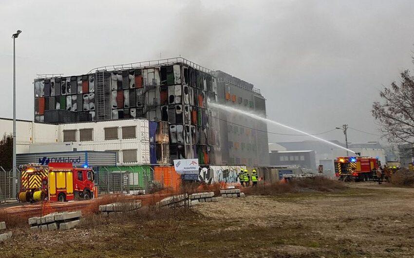 Pożar w serwerowni OVH w Strasburgu
